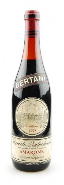 Wein 1971 Amarone Bertani Recioto della Valpolicella