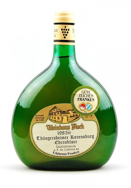 Wein 1982 Thüngersheimer Ravensburg Ehrenfelser QW