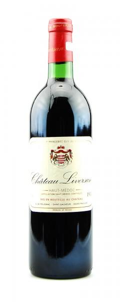 Wein 1983 Chateau Liversan Haut-Medoc