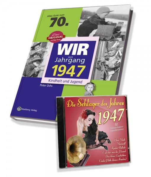 Zeitreise 1947 - Wir vom Jahrgang & Schlager 1947