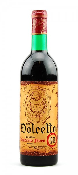 Wein 1969 Dolcetto Cantine Umberto Fiore