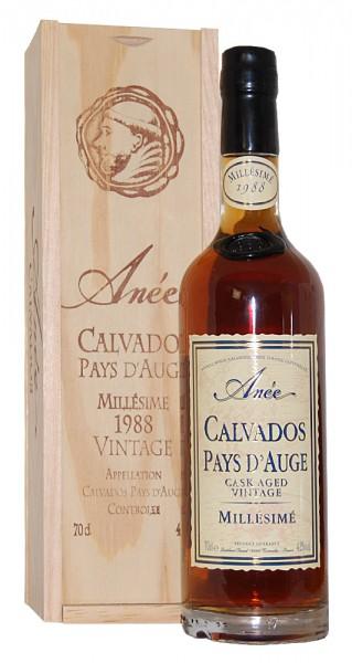 Calvados 1988 Calvados Busnel Anée Pay d´Auge