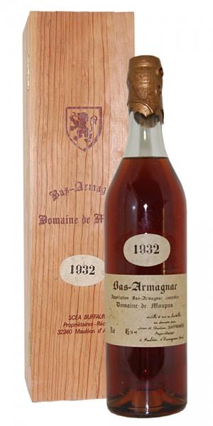Armagnac 1932 Bas-Armagnac Domaine de Maupas