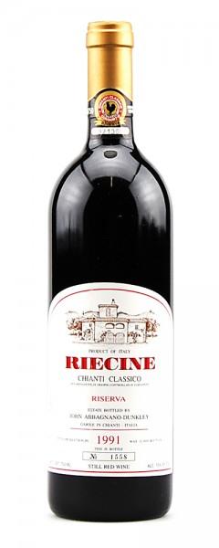 Wein 1991 Chianti Classico Riserva Numerata Riecine