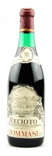 Wein 1983 Recioto Amabile della Valpolicella Tommasi