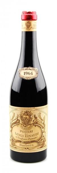 Wein 1964 Barbera Podere di Luigi Einaudi