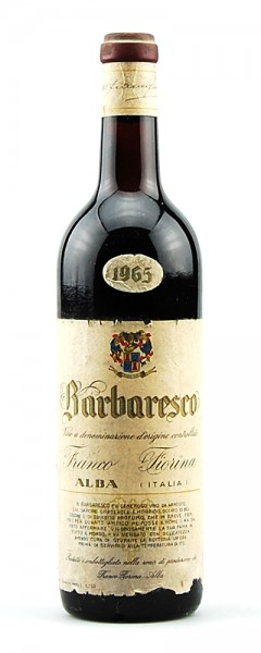Wein 1965 Barbaresco Franco Fiorina