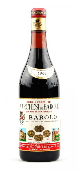 Wein 1968 Barolo Marchesi di Barolo