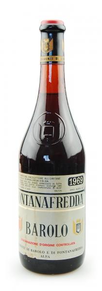 Wein 1969 Barolo Fontanafredda