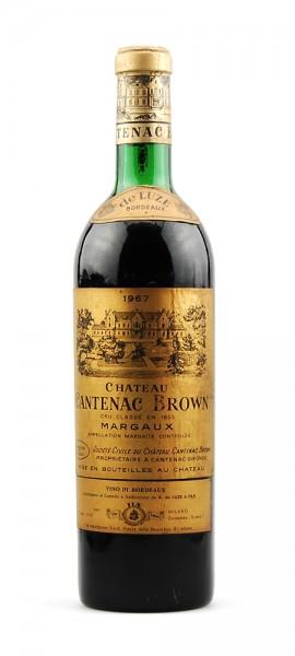 Wein 1967 Chateau Cantenac Brown Cru Classe