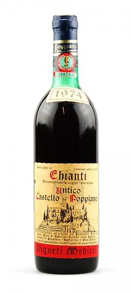 Wein 1974 Chianti Antico Castello di Poppiano