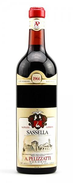 Wein 1966 Sassella Valtellina Superiore Pelizzatti