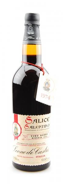 Wein 1974 Salice Leone de Castris Riserva Salentino