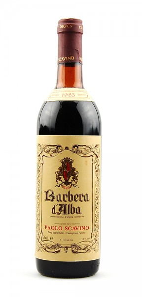 Wein 1985 Barbera d-Alba Paolo Scavino