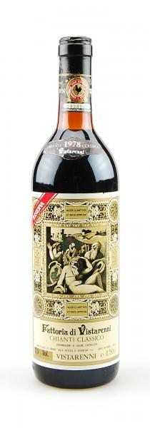 Wein 1978 Chianti Classico Riserva Vistarenni