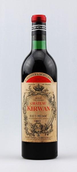 Wein 1957 Chateau Kirwan 3eme Grand Cru Classe
