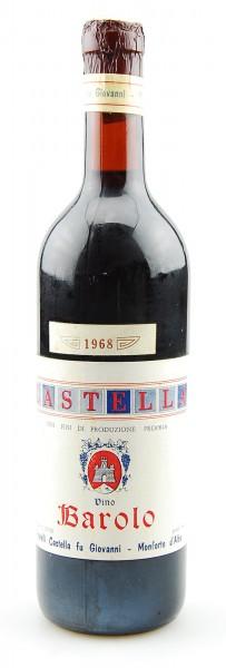 Wein 1968 Barolo Fratelli Castella fu Giovanni