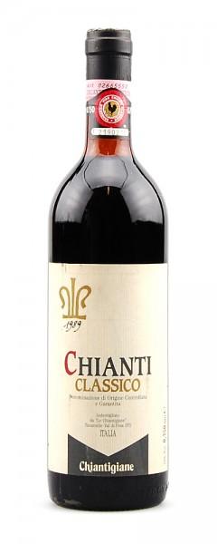 Wein 1989 Chianti Classico Le Chiantigiane