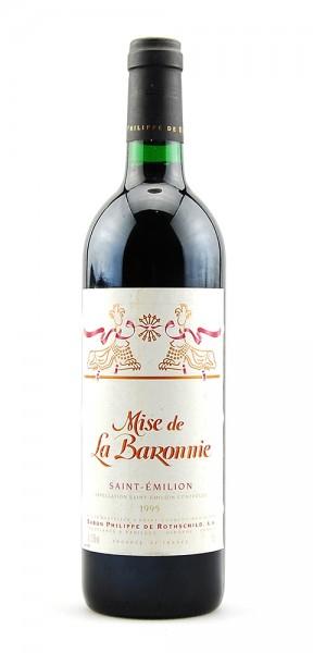 Wein 1995 Mise de La Baronnie Baron de Rothschild