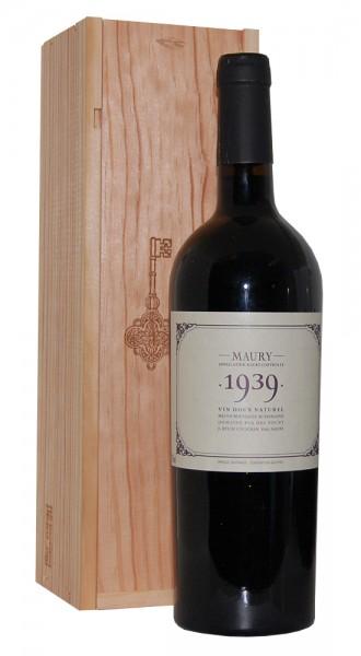 Wein 1939 Maury Domaine Pla del Fount