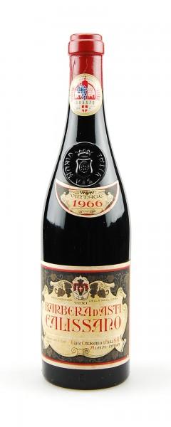 Wein 1966 Barbera d´Asti Luigi Calissano