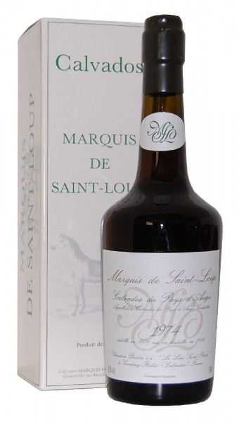 Calvados 1974 Christian Drouin Marquis de Saint-Loup