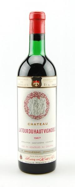 Wein 1967 Chateau La Tour du Haut Vignoble St.Estephe