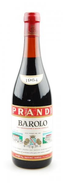 Wein 1964 Barolo Prandi Tenuta Marchesi di Barolo