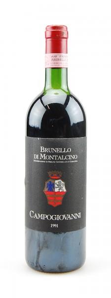 Wein 1991 Brunello di Montalcino Campogiovanni