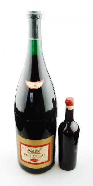 Wein 1972 Beaujolais Maison Faye - 6,4 Liter