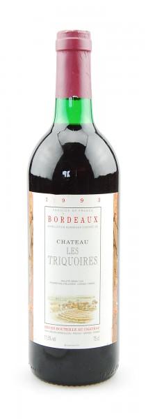 Wein 1993 Chateau les Triquoires