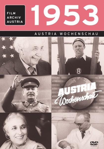DVD 1953 Chronik Austria Wochenschau in Holzkiste