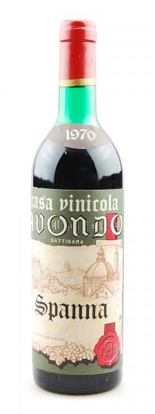 Wein 1970 Spanna Gattinara Casa Vinicola Avondo