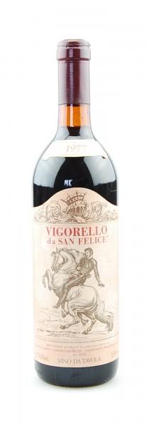 Wein 1977 Vigorello San Felice