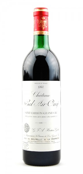 Wein 1990 Chateau Bel-Air Ouy Grand Cru St. Emilion
