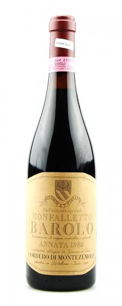 Wein 1989 Barolo Montezemolo podere Monfalletto