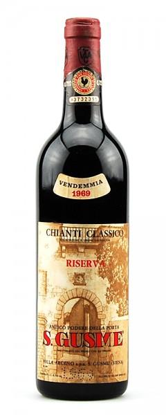 Wein 1969 Chianti Classico Riserva Arceno S. Gusme