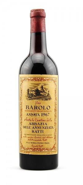 Wein 1967 Barolo Renato Ratti