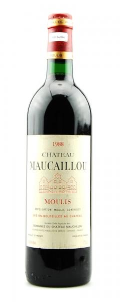 Wein 1988 Chateau Maucaillou Cru Bourgeois
