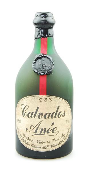 Calvados 1963 Anée Appelation Calvados Controlee