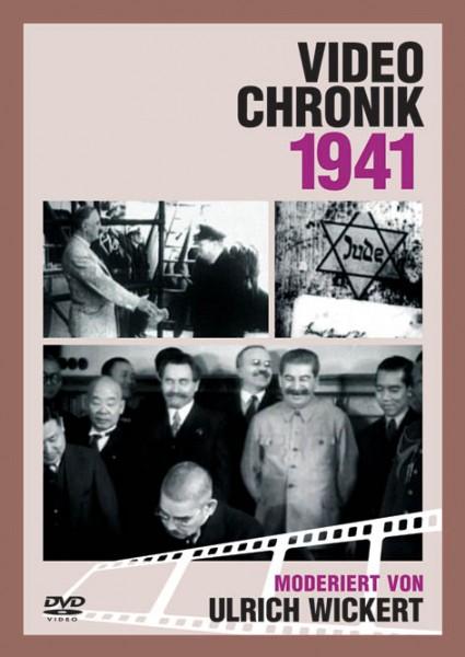 DVD 1941 Chronik Deutsche Wochenschau in Holzkiste
