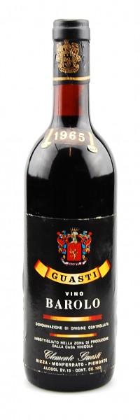 Wein 1965 Barolo Guasti Clemente
