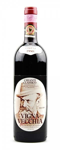 Wein 1988 Chianti Classico Vignavecchia Riserva