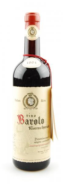 Wein 1964 Barolo Riserva Speciale Valfieri