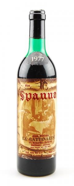 Wein 1977 Spanna La Gattinara di Armando Sodano