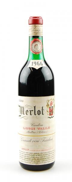 Wein 1966 Merlot Luigi Valle