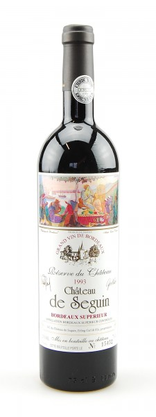 Wein 1993 Chateau de Seguin Reserve de Chateau