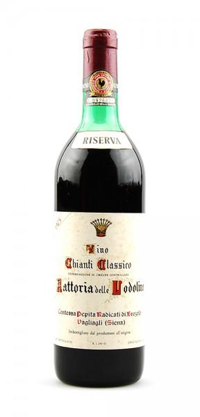 Wein 1975 Chianti Classico Fattoria Lodoline Riserva