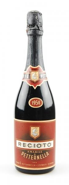 Wein 1958 Recioto Amabile Petternella