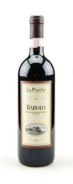 Wein 2002 Barolo La Pineta